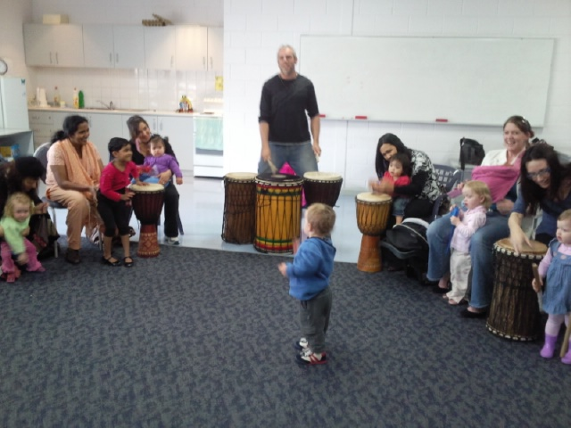 kids drumming libraries perth