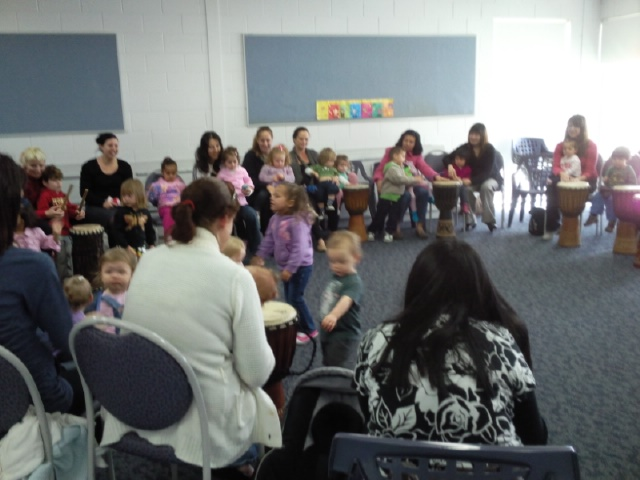 drumming kids libraries mums perth