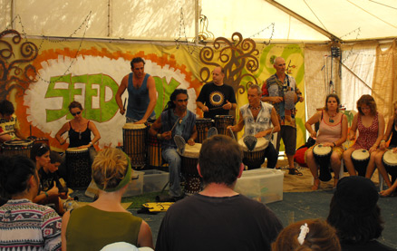 fairbridge festival youth drumming circle