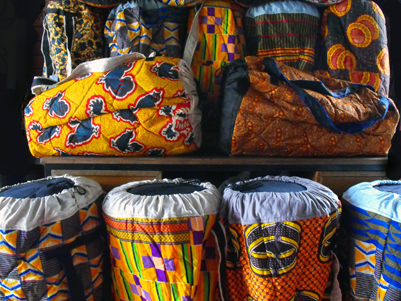 djembe bags african cloths